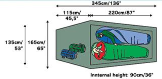 Bergans 6002 Compact 2-man Tent  sc 1 st  Moontrail & Bergans 2-Man Compact tent (free ground shipping) :: 4-season ...