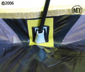... Bibler Pueblo 4 person ultralight mountaineering tent reinforced side pole holder & Pueblo tent :: Moontrail
