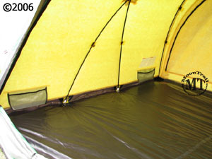 The Bibler Pueblo features a factory seam sealed bathtub style floor with reinforced pole holders.Four mesh pockets (two each on left and right sides) are ... & Pueblo tent :: Moontrail