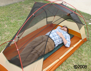 Big Agnes Copper Spur UL 2; model laying in tent ... & Copper Spur UL 2 2011 :: Moontrail