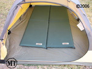 The photo above shows the Black Diamond Skylight with two standard size Therm-A-Rest sleeping pads placed against the foot of the tent. & Skylight tent :: Moontrail