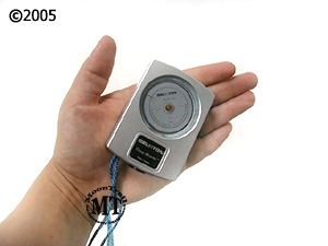 Brunton CM66la ClinoMeter / Heightmeter in hand