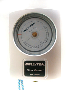 Brunton CM66la ClinoMeter / Heightmeter; detail
