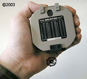 Brunton 5005LM International Transit; inhand