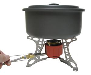 Brunton Vapor AF stove, pump and 600 ml fuel bottle ...