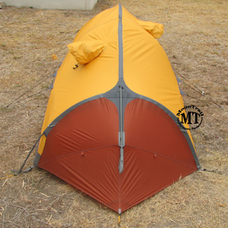 Side view of the Polaris. The other side of the tent is the same as this side. & Exped Polaris tent (free ground shipping) :: 4-season single-wall ...