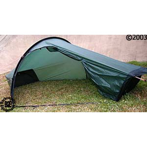 Hilleberg Akto 1 person 4 season tent: View of 34 right