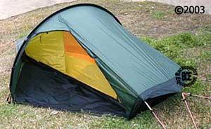 hilleberg akto 1 person 4 season tent front view & Akto tent :: Moontrail