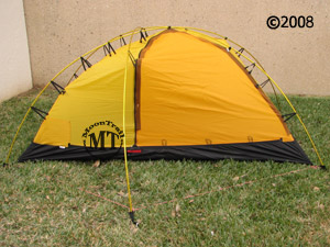 Hilleberg Allak  front view of inner tent ... & Allak :: Moontrail