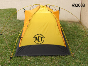 Hilleberg Allak  side view of inner tent ... & Allak :: Moontrail