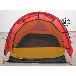 Front vestibule detached and rolled back revealing the inner tent. Inner tent door is nearly all mesh providing excellent venting.  sc 1 st  Moontrail & Hilleberg Anjan 3 2016 (free ground shipping) :: 3-season tents ...