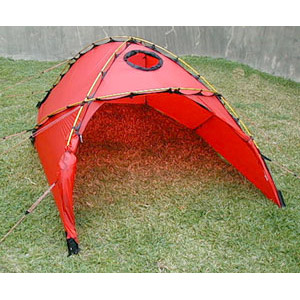 Hilleberg Jannu; 2-Person Mountaineering Tent; Outer Tent with Door Open