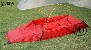 The Hilleberg Jannu is setup by staking the outer tent first then setting up the poles. Once the tent is in the configuration pictured above you just clip ... & Jannu red-colored fly :: Moontrail