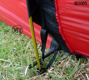 Hilleberg Kaitum ; pole cups on side of tent ... & Kaitum 2 :: Moontrail