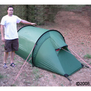 Hilleberg Nammatj 2 GT person mountaineering tent,  with model