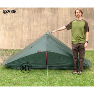 Hilleberg Rajd 2 person mountaineering tent: shown with 5'11