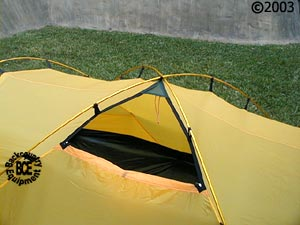 Hilleberg Tarra 2 person mountaineering tent vent view & Tarra tent :: Moontrail