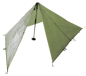 Integral Designs Silshelter olive green color