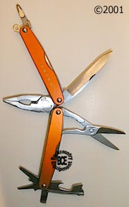 Leatherman Juice S2 - Flame, photo of tools open