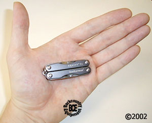Leatherman Squirt P4 minitool; grey model