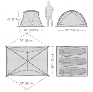 Marmot Limelight 3P  sc 1 st  Moontrail & Marmot Limelight 3P (free ground shipping) :: 3-season tents ...