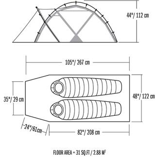Atlas Scandium XL™ poles ...  sc 1 st  Moontrail & Mountain Hardwear EV2 (free ground shipping) :: 4-season single ...