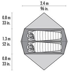 MSR Hoop  sc 1 st  Moontrail & MSR Hoop 2 (free ground shipping) :: 3-season tents :: Shelters ...