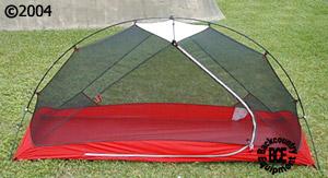 MSR Hubba Hubba 2004 2 person 3 season Tent Front View & Hubba Hubba :: Moontrail