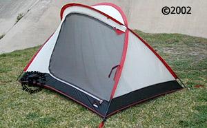 MSR velo tent 34 right view & Velo tent :: Moontrail
