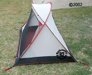 MSR velo tent side view & Velo tent :: Moontrail