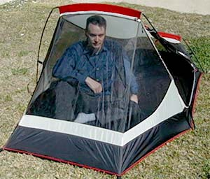 MSR zoid 2 tent front view with model  sc 1 st  Moontrail & Zoid 2 :: Moontrail