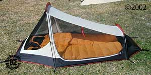MSR zoid 2 person 3-season tent side view of tent & MSR Zoid 2 :: 3-season tents :: Shelters :: Moontrail