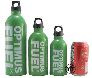 Optimus Fuel Bottle 400ml Small Fuel Bottles
