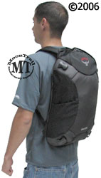 Osprey Meridian wheeled travel pack : daypack removed from main bag