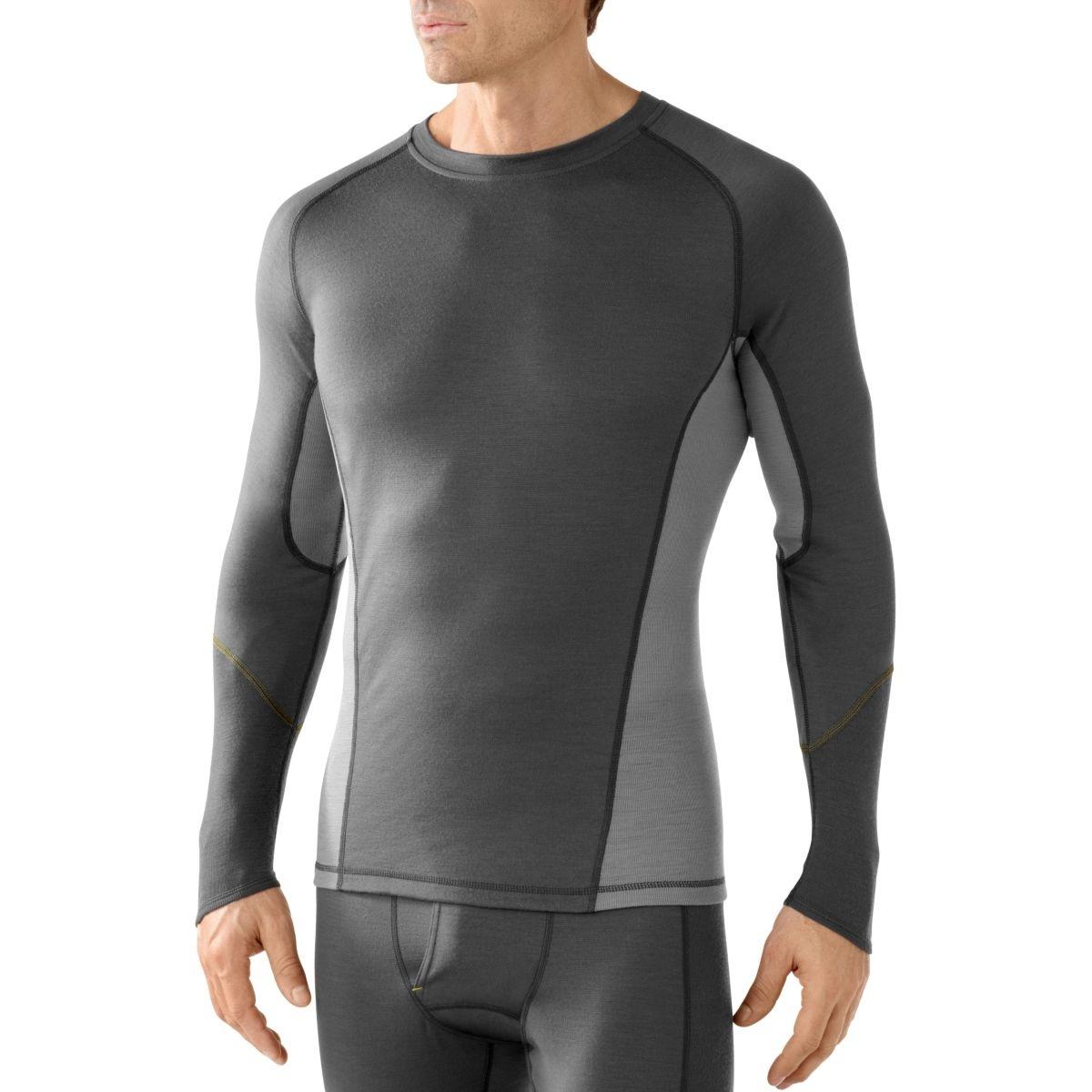 9c45466849ff Smart Wool Lightweight 195 Crew, men's :: Base layer tops, men's ...
