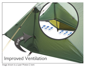 Smaller pack size for 2011 ... & Terra Nova Laser Photon 1 (free ground shipping) :: 3-season tents ...