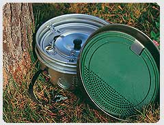 Trangia Multidisk as non-stick protector