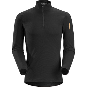 Phase SV Zip Neck LS, men's
