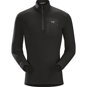 Satoro AR Zip Neck LS, men's