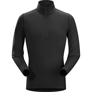 Phase AR Zip Neck LS, men's