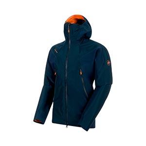 Nordwand HS Flex Hooded Jacket, men's