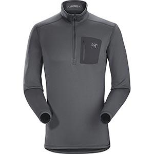 Rho AR Zip Neck, men's, discontinued Fall 2018 colors