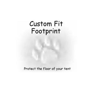 Footprint for Tarra, inner + vestibles