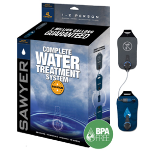 SP184, Complete 4L Water Treatment System