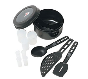 MSR Ultralight Kitchen Set Lightweight Compact Utensils Kit