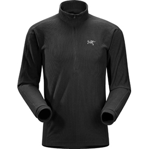 Delta LT Zip Neck, men's