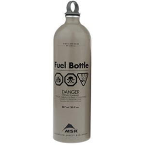 Fuel Bottle, 30oz, Tan