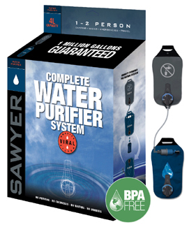 SP194, Complete 4L Water Purifier System