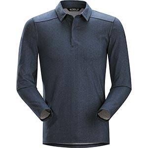 Captive Polo Shirt LS, men's, discontinued Fall 2018 colors