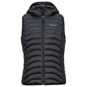 Bronco Hooded Vest, women's